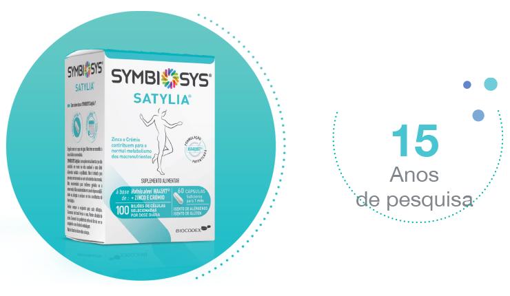 Symbiosys Satylia - Eficácio Comprovada - 15 Anos de pesquisa